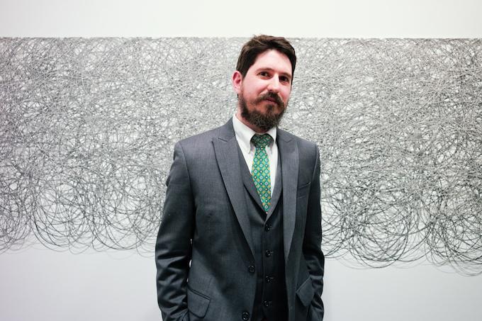 Artist Adam Fowler