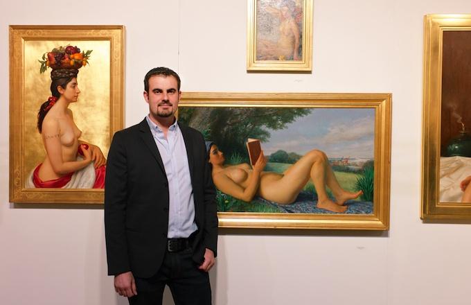 Lee Vasu of Dacia Gallery