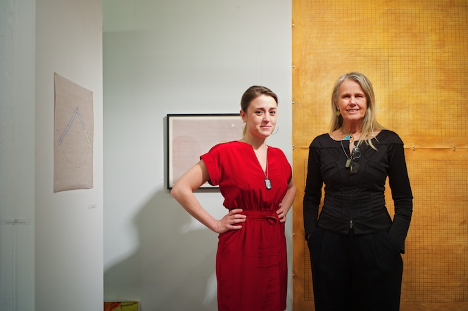 PDX Gallery from Portland,OR - Jane Beebe (R) representing work from D E May