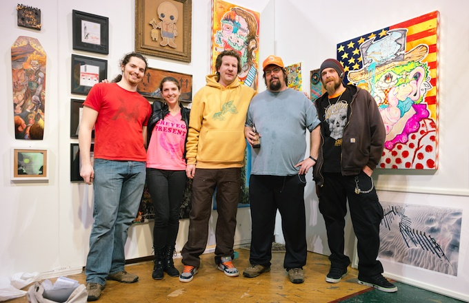 The Crew of GreyEgg Collective at Fountain