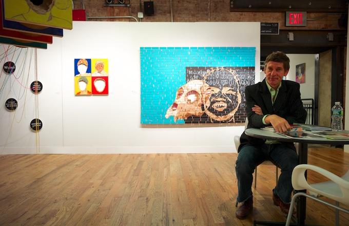Walter de Weerdt from Nomad Gallery (Brussels)