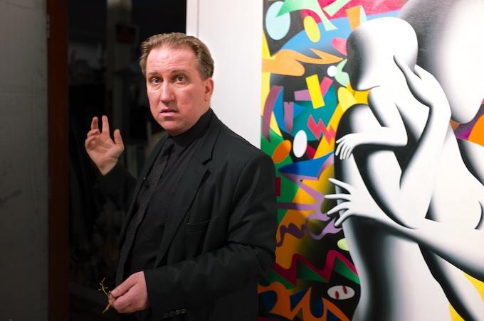 Artist Mark Kostabi
