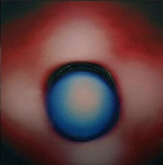 Frank Burgel, Blue Moon - Red Sky, 2007.