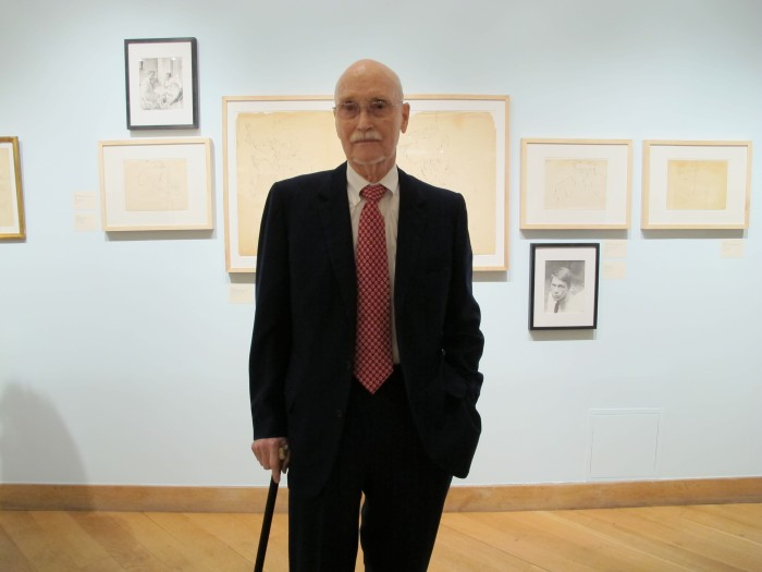 Curator Peter Harvey