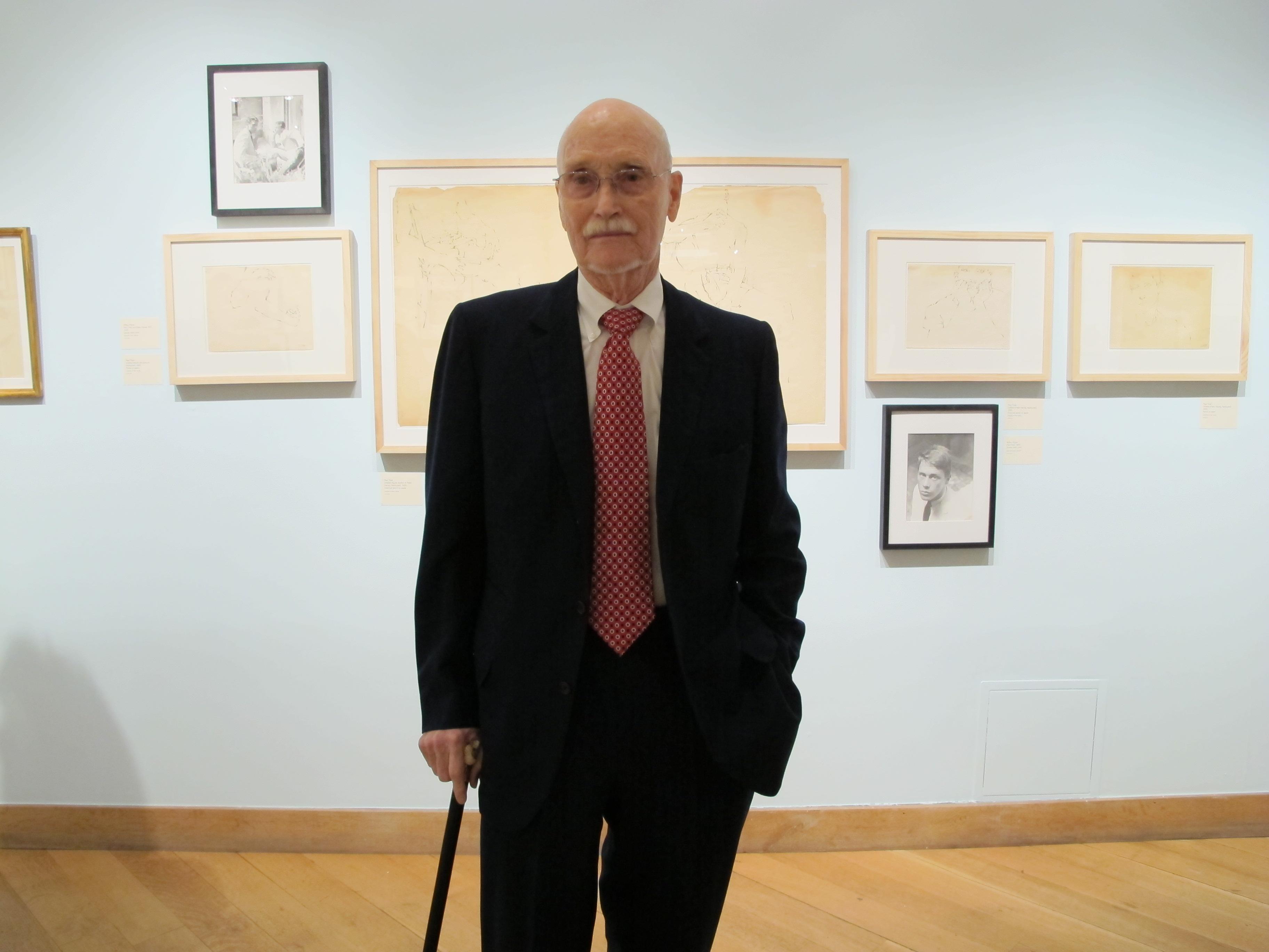 Curator Peter Harvey
