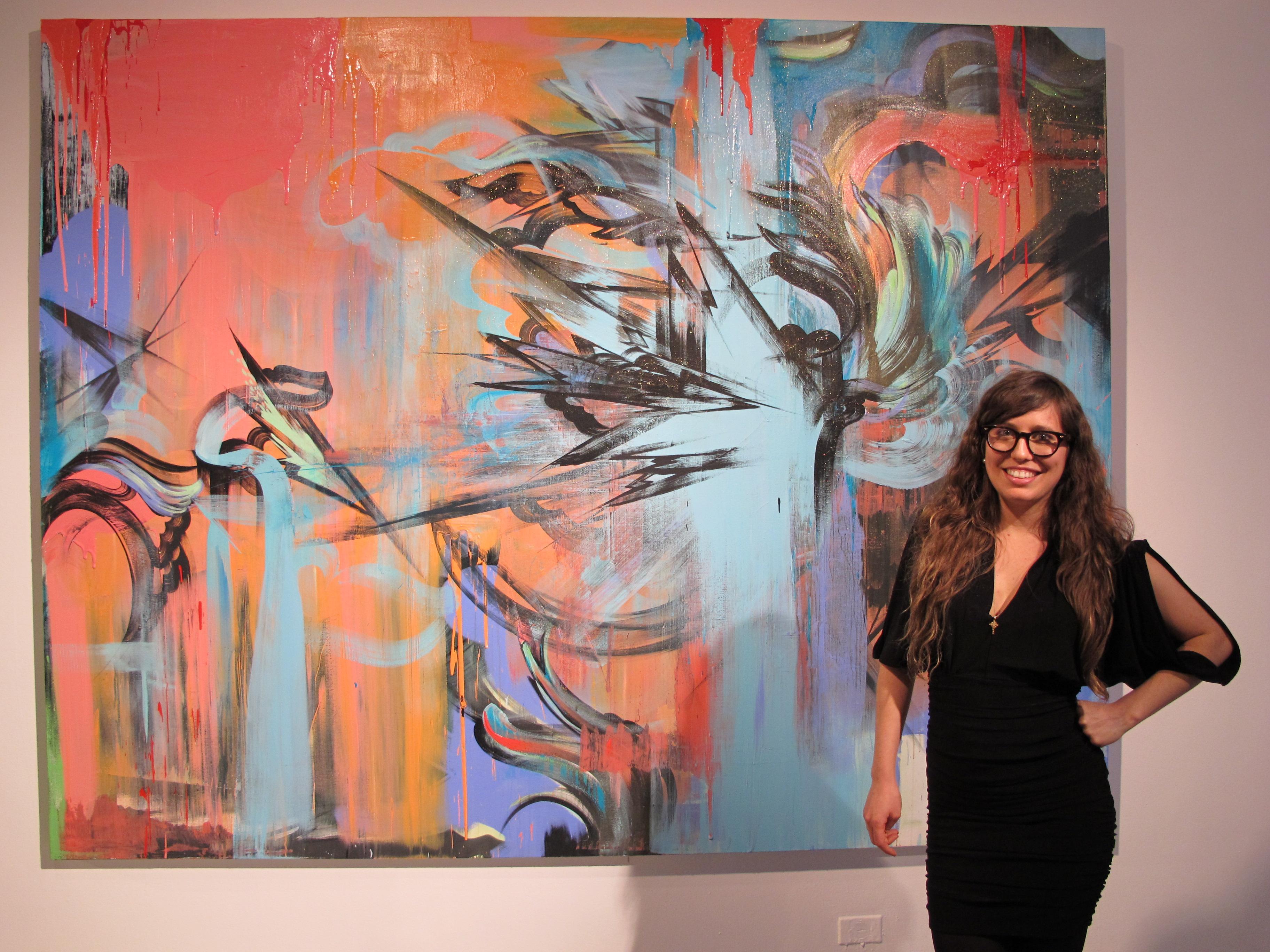 Artist Sofia Maldonado