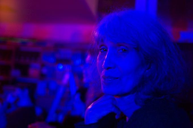 Loving the art nightlife at Mark Kostabi World