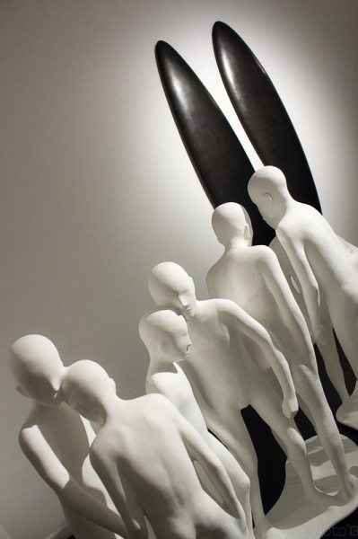 The Scupltures of Emil Alzamora at Krause Gallery