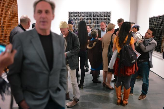 The art aficionados flock to view the unique Southeast Asia art at Tyler Rollins Fine Art