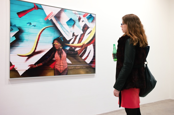 Viewing the Dense Color Photography of Hannah Starkey (photo by Max Noy)