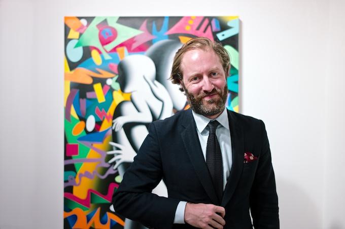 Writer David Coggins