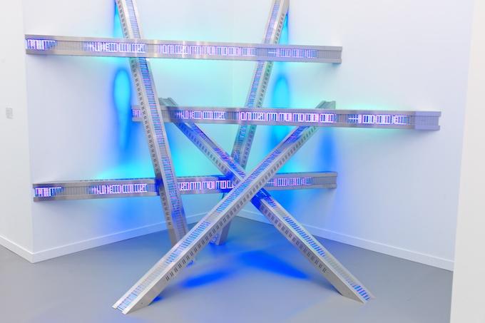 Heaps of LED love at Frieze Art Fair NY 2013
