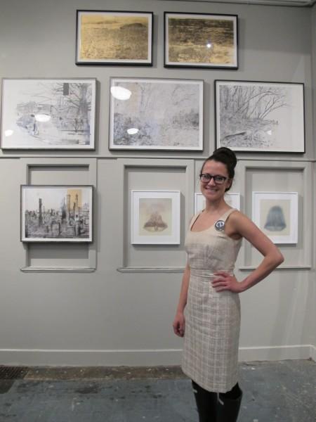 Curator Kristin Sancken