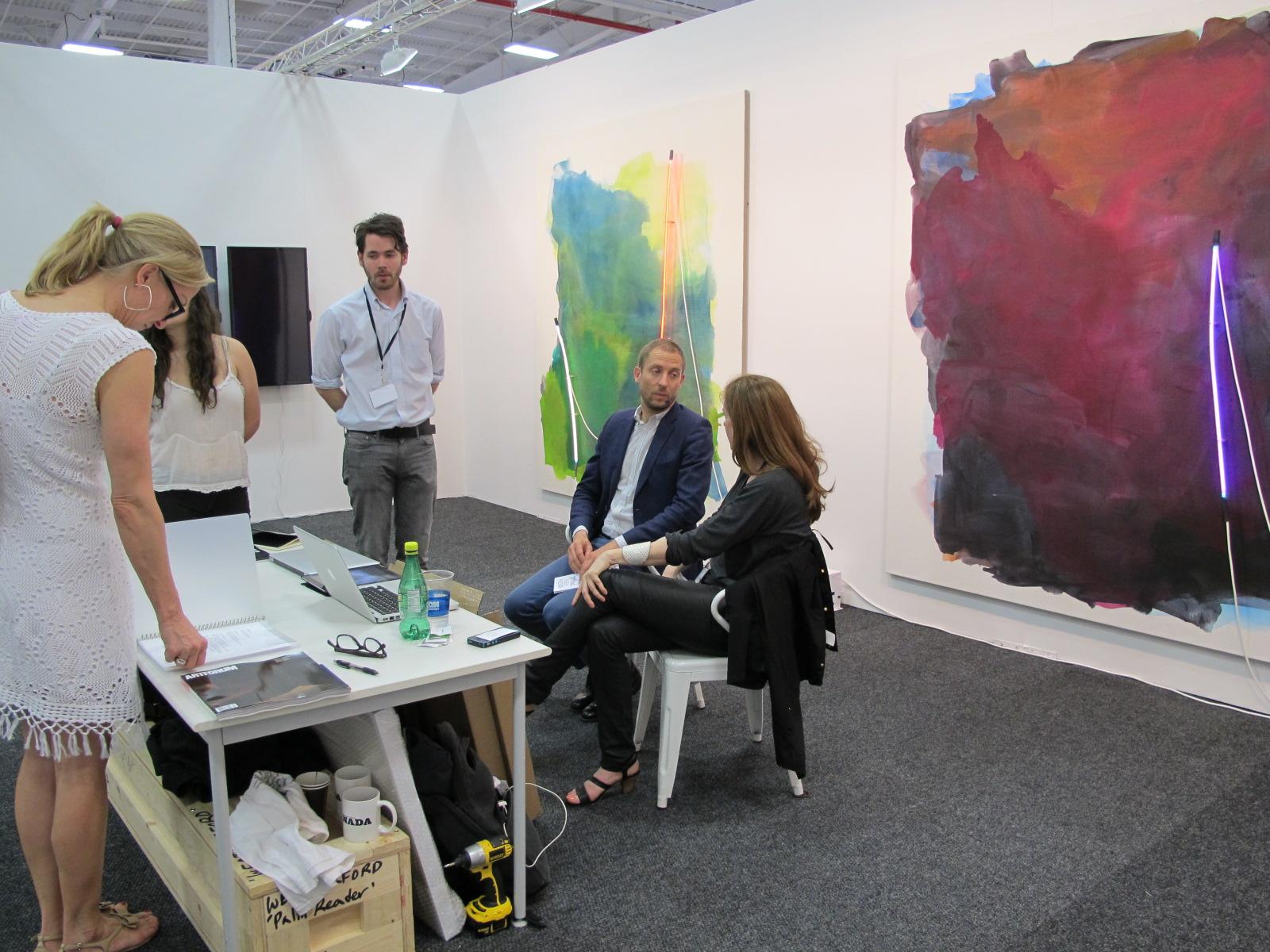 Brennan & Griffin at NADA Art Fair