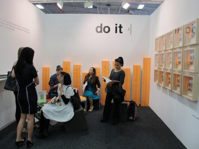 Independent Curators international at NADA Art Fair