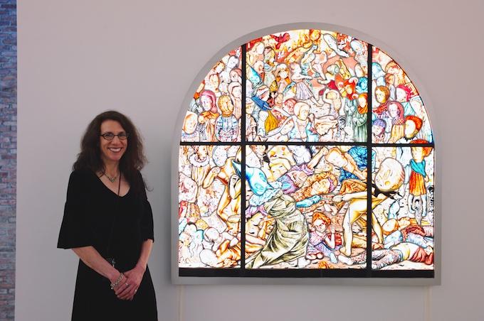 Artist Judith Schaechter