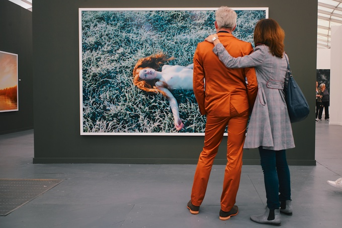 Loving the Ryan McGinley Photo at Frieze Art Fair NY 2013