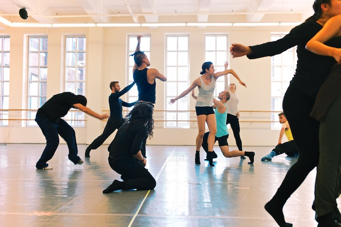 On the 4th Floor a dance company rehearses for all to enjoy at Mana Contemporary