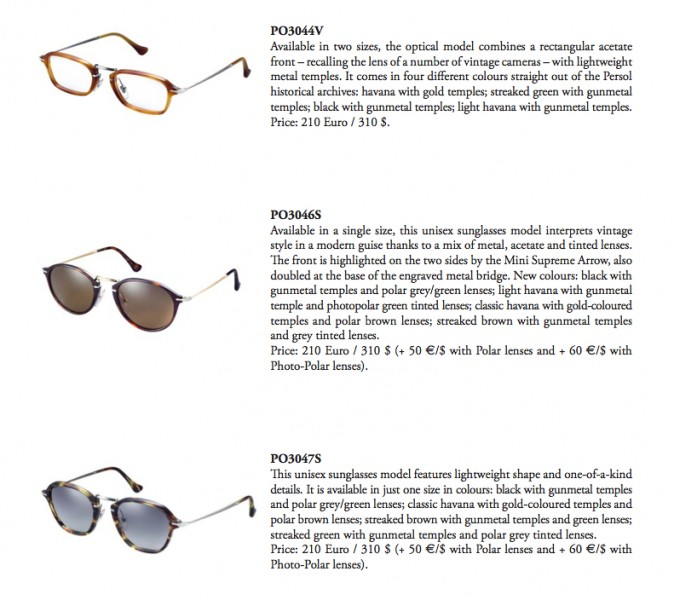 Persol Reflex Edition Photo Contest