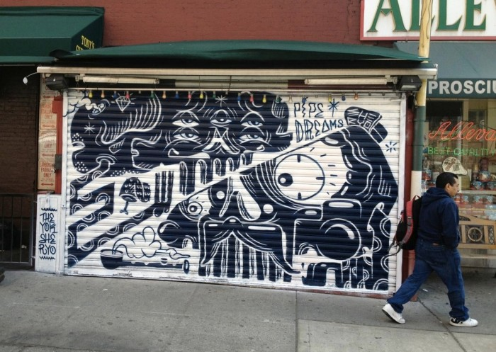 Pipe Dreams by Sheryo x The Yok (courtesy of Krause Gallery)