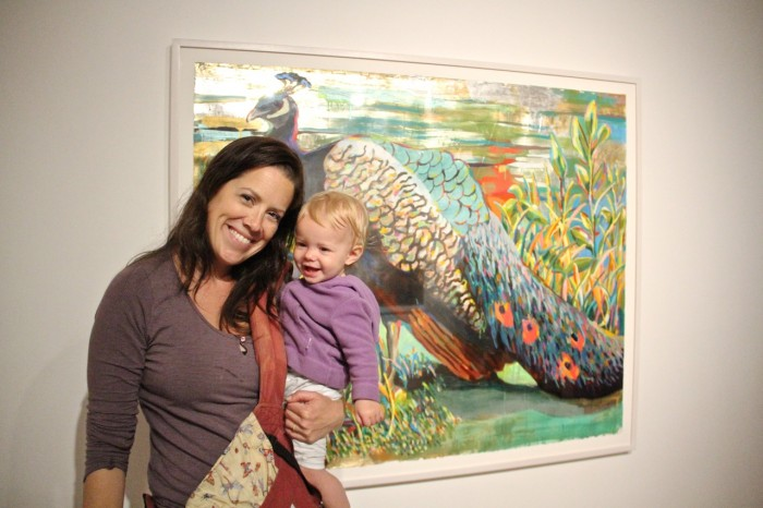 Start them young to have fun at art openings