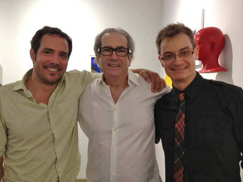 Artists Stephan Fawlkes, Peter Reginato and Joaquin Carter