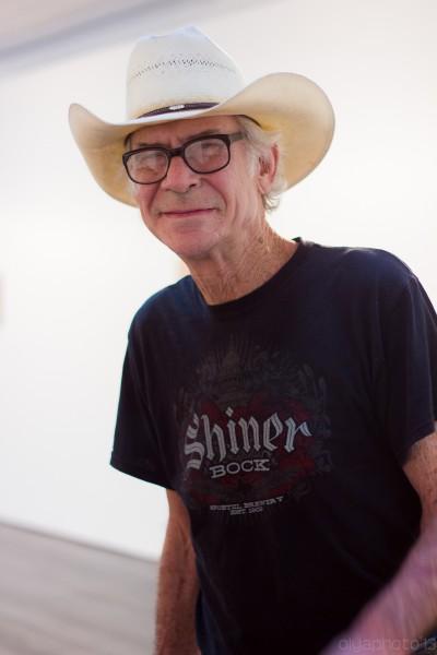 LES art fixture and legend - artist Cowboy Ray Kelly