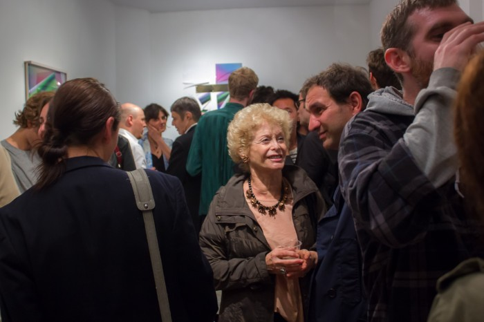 The Art Lovers of LES braved the elements to attend Jaro 2 opening at Rooster Gallery