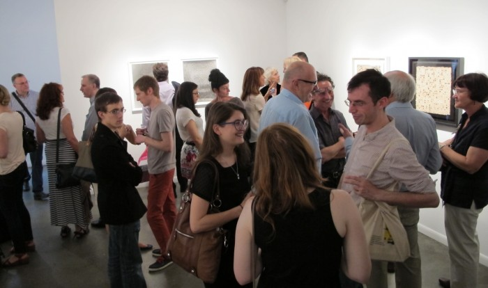 The Art Set during Chelsea Thursday Art Crawl in Von Lintel Gallery