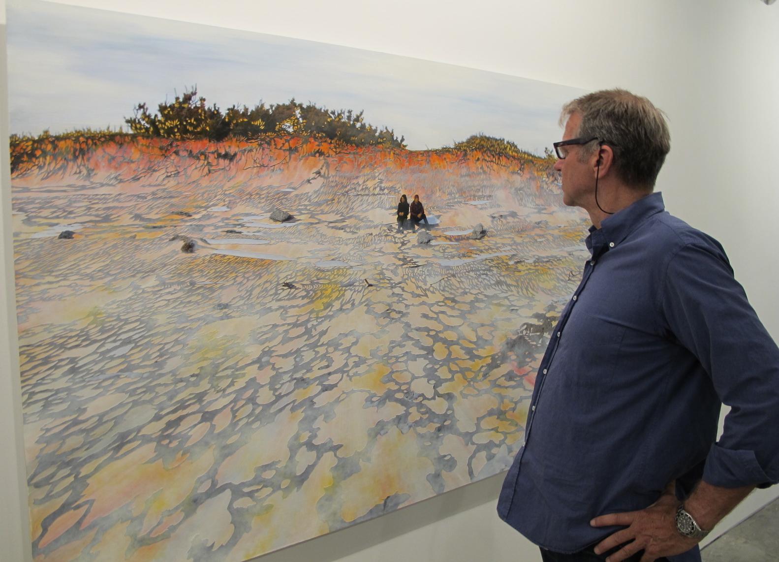 The work of Bradley Castellanos at Ryan Lee Gallery