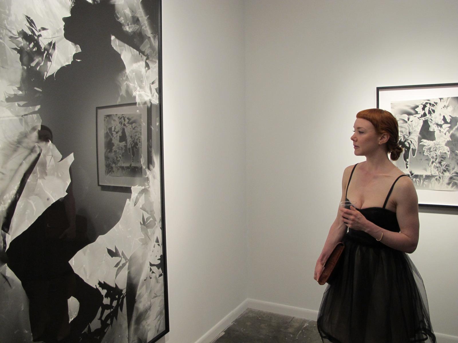 Viewing a Unique exhibition at Von Lintel Gallery