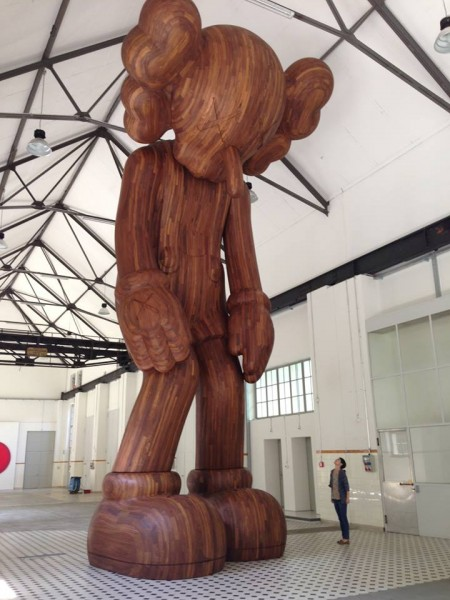 "KAWS ""GISWIL"" at More Gallery"