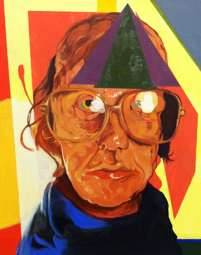 Matthew Oates Pineal Oil on canvas 16x20 2012-2013