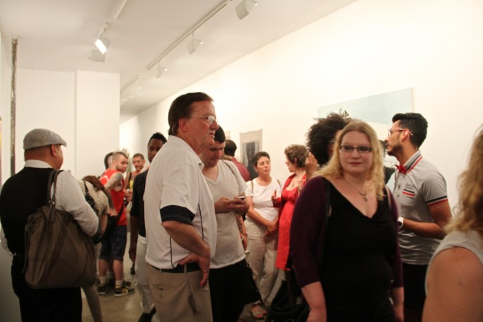 A Packed House at Munch Gallery