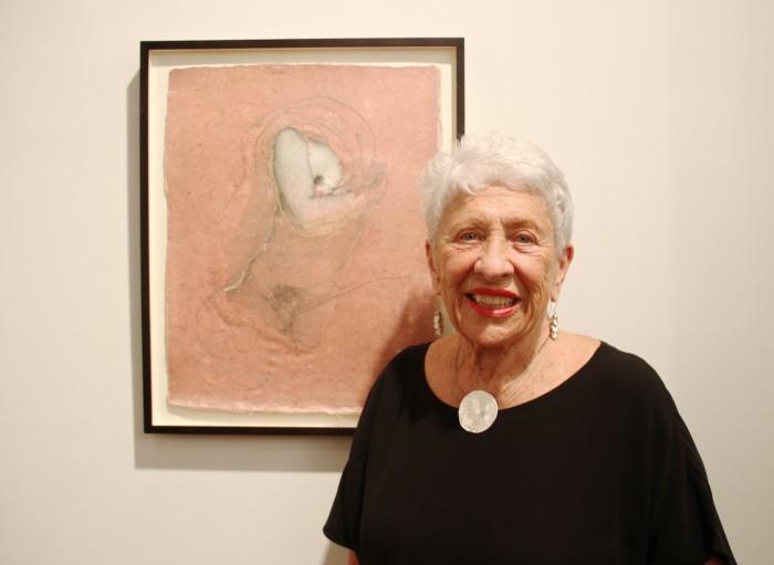 Artist Ernestine Ruben