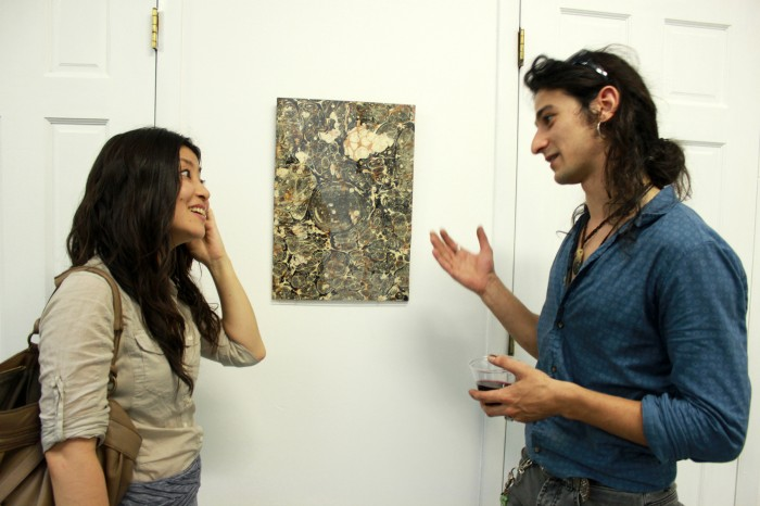 Artists Ai Campbell (left) and Serkan Altinoz (right)Artists Ai Campbell (left) and Serkan Altinoz (right)