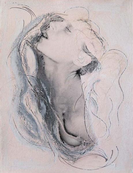 Ernestine Ruben, Stretch mixed media, 24 x 18 inches