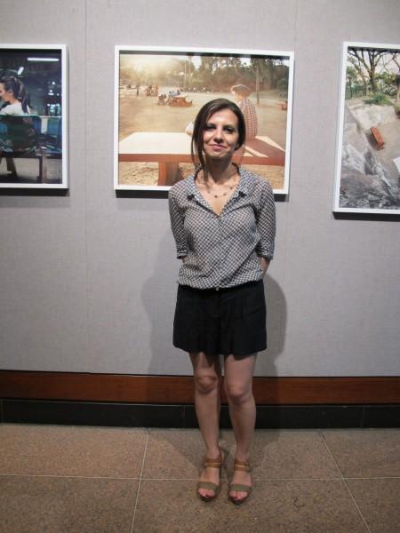 Curator Lia Zaaloff
