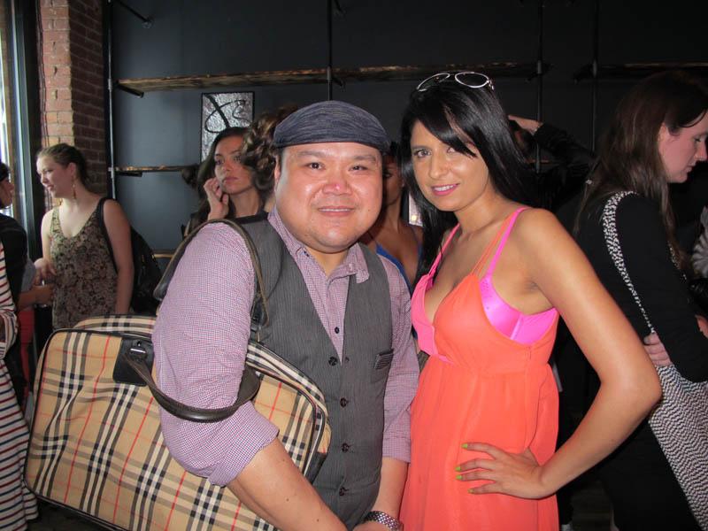 (L-R) AF Editor Oscar A. Laluyan and artist Qinza Jamal