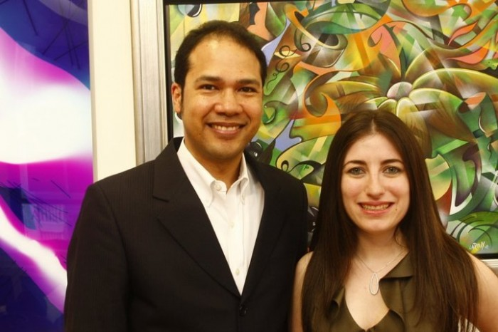 In Living Color with nAscent Art New York founders James and Jennifer Wallace, photo by Fred Scott
