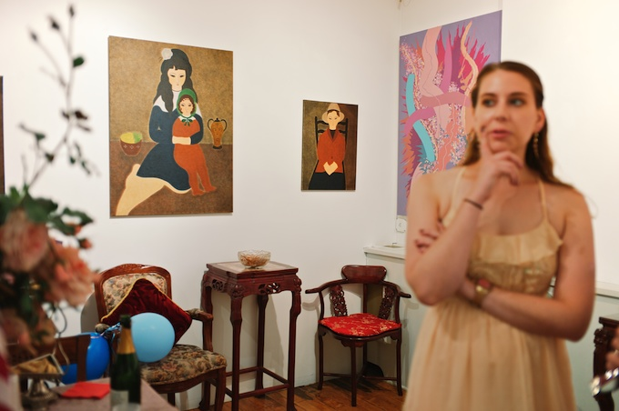 Amsterdam Whitney Gallery Opening JULY 18