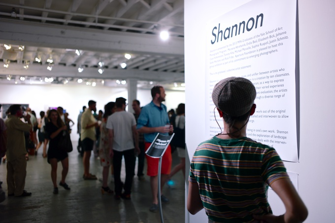 Welcome to Aperture for the Opening Reception of SHANNON