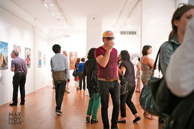 Art Night at Agora Gallery