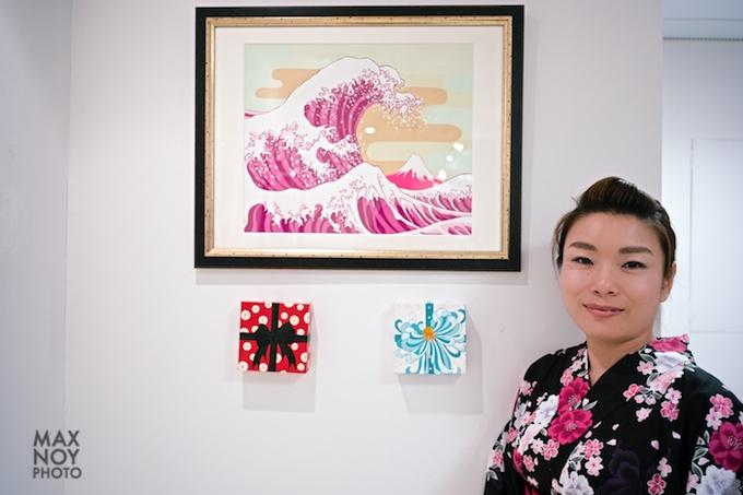 Artist Eico Wada