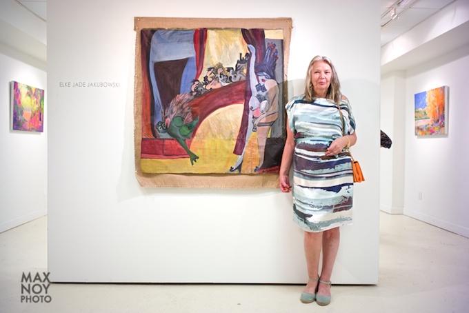 Artist Elke Jade Jakubowski