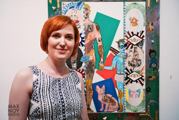 Artist Kat Elagina and her art