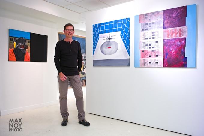 rtist Luc Standaert at Artifact Gallery