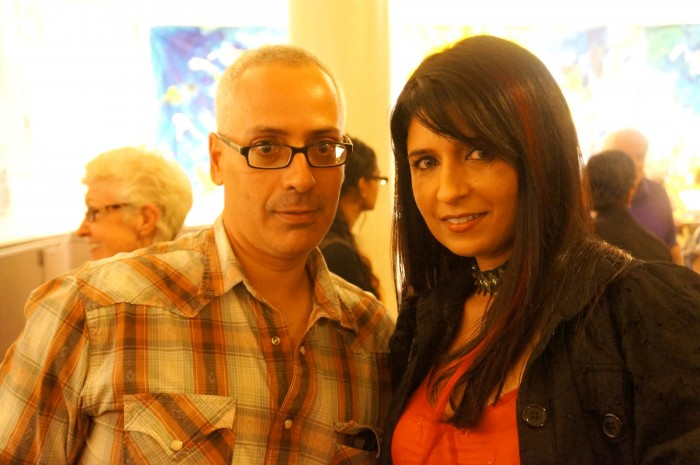 Artists (L-R) Erick Sanchez & Qinza Najm