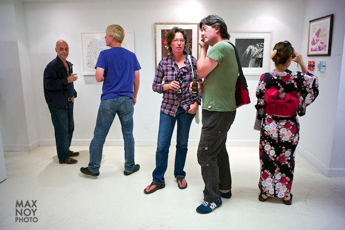 LES Art Night at Artifact Gallery