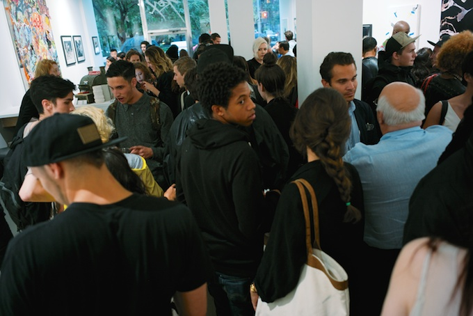 The Packed House at ROX Gallery